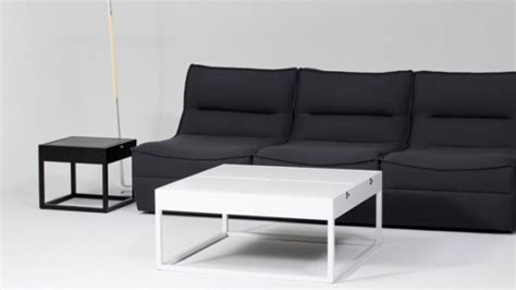 transformable coffee tables that can become cushioned
