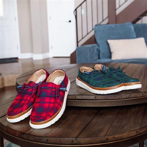 wendy tartan hey dude shoes plaid design tartan comfort fit