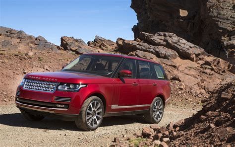 red range rover 2013 land rover range rover in morocco red rocks