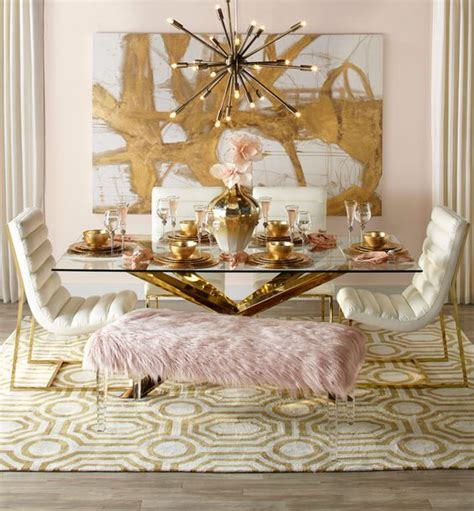 Z Gallerie Dining Room by 10 Ways To Use Gold Decor A Guide To Decorating With Gold