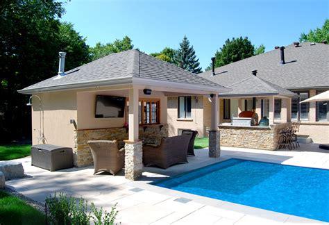 custom pool cabana plans mcnary great ideas to