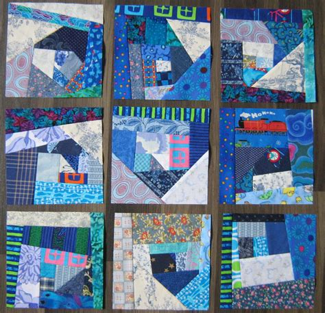 Mile A Minute Quilt by Inch By Inch Quilting Mile A Minute In Blue