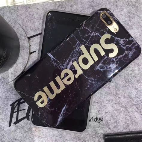 fashion supreme luxury fashion supreme marble gold phone cases for iphone