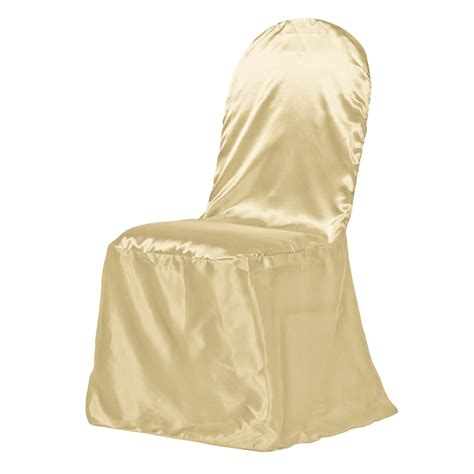 Banquet Chair Covers For Sale by Satin Banquet Chair Cover Gold For Weddings And Special