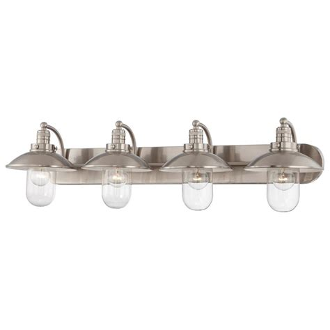 minka lavery bathroom lighting fixtures minka lavery 5134 84 brushed nickel 4 light bathroom