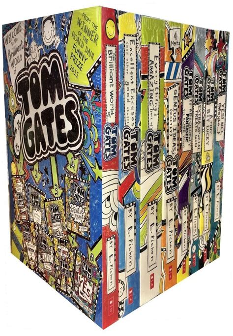 140714880x tom gates top of tom gates collection liz pichon 8 books set tiny bit lucky