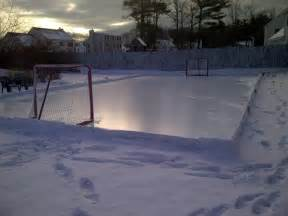 build your own backyard rink boston approved tips