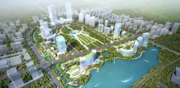 Urban Garden Houston - shanghai songjiang district master plan