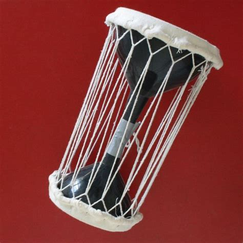 tutorial on talking drum make a talking drum out of funnels pictures of drums