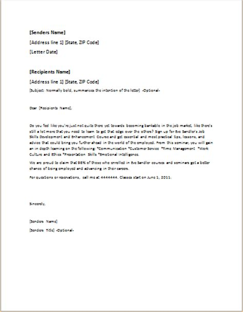 event invitation letter template for word doc formal