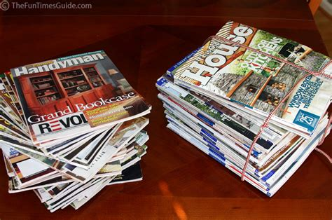 recycled home magazines the best gift of all the log