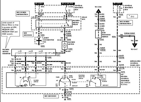 1999 ford zx2 radio wiring diagram