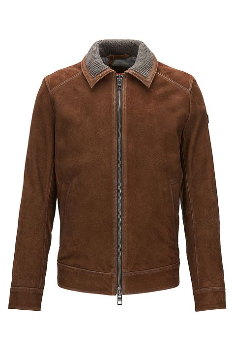 Suede Bludru Not Leather Ip55sse66s677 goat suede leather jacket jacien