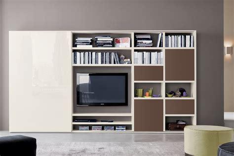 libreria soggiorno libreria con anta scorrevole 557 napol arredamenti