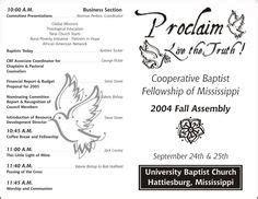 printable church program template church program