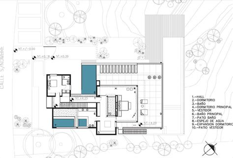 modern floor plans for homes floor plan modern riverside house in buenos aires