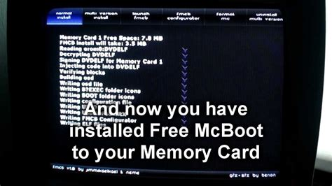 Memory Card Format Upgrade Memori Ps2 Mc Boot Multi Mcboot How To Install Free Mcboot On Another Memory Card