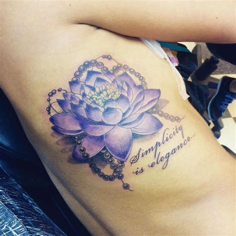 blue flower tattoo blue and purple lotus flower www pixshark