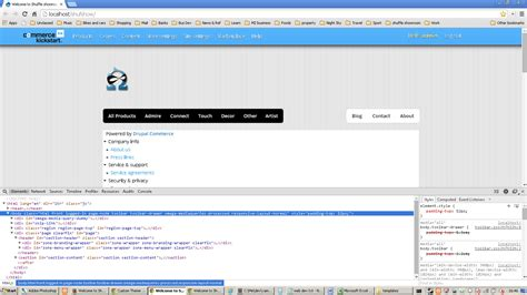 drupal themes not working theming custom theme for commerce kickstart 2 not