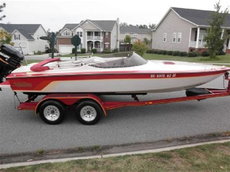 runabout boats for sale in sc 21 feet 1987 1 hull stallion runabout white red 500