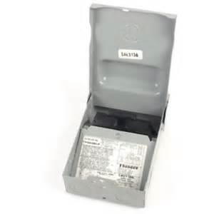 ge electrical 60 amp non fused ac disconnect outdoor nema 3r non fusible box