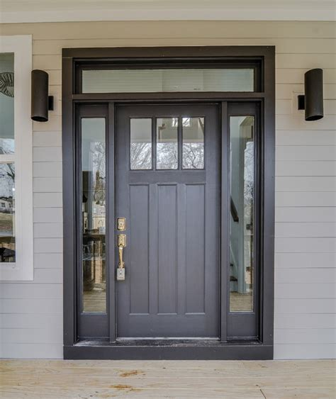 craftsman charm exterior sherwin williams black magic