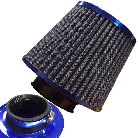 Auto Luftfilter by Universal Blue Finish Car Air Filter Induction Kit High