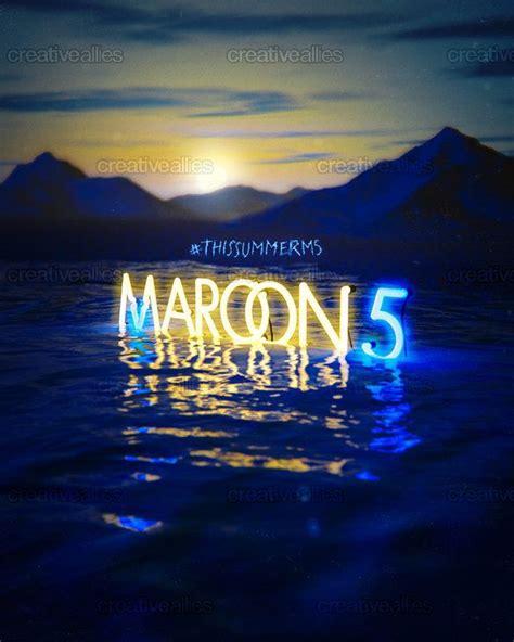 maroon 5 fan maroon 5 fan marooner fan