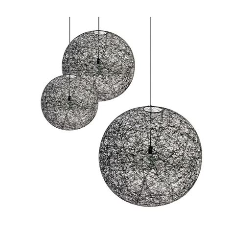 random pendant light moooi random suspension light led eames lighting