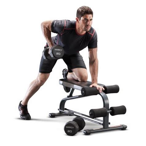 marcy dumbbell bench marcy specialty weight bench with 40 lb vinyl dumbbell