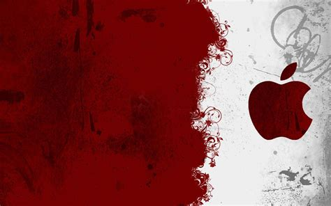 apple wallpaper that moves cool red wallpapers wallpaper cave