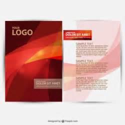 free brochure designing template brochure design vector vector free
