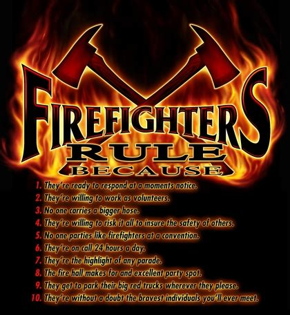 firefighters rule firefighters looking for badass