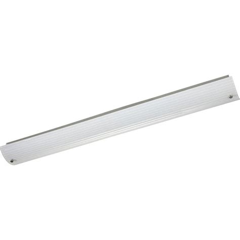 Brushed Nickel Fluorescent Light Fixtures Progress Lighting Gather Collection 1 Light Brushed Nickel Fluorescent Bath Light P2706 09ebwb