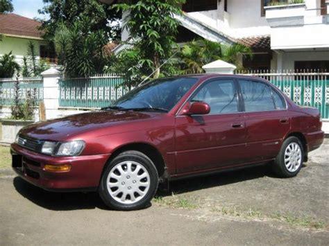 Lu Depan Mobil Great Corolla Toyota Great Corolla Thn 1995 Automatic Merah Maroon