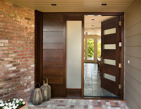 modern entrance door designs for houses bloombety modern entry doors with brick walls1 modern entry doors design ideas