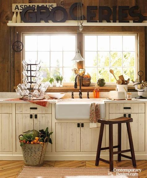 White Kitchen Island With Butcher Block Top by Small Country Kitchen Ideas