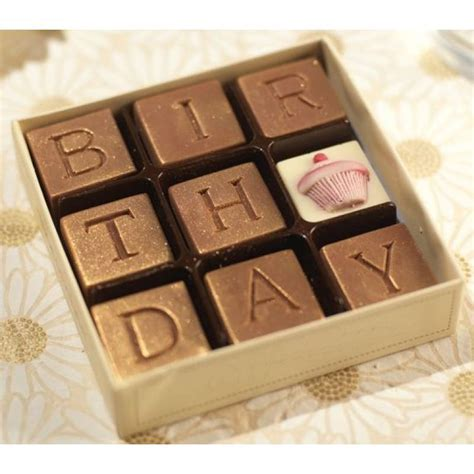 Happy Birthday Chocolate Gift   Funky Hampers