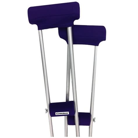crutches comfortable padding crutcheze sport purple crutch pads covers with comfortable