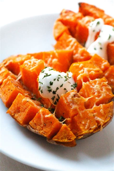 the best roasted sweet potatoes recipe dishmaps