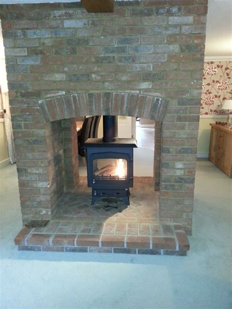 Brick Fireplaces For Stoves by 17 Best Images About Wood Burners On Stove