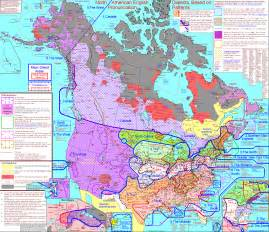 us and canada interactive map dialect map of u s shows how americans speak by region