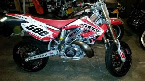 Suzuki 250 Supermoto Supermoto Cr 250 Titled And Registered Drz