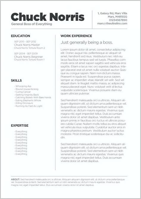 creative resume templates for word free resume resume