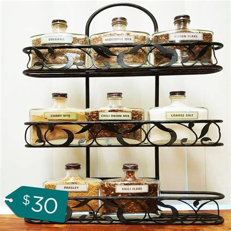 Counter Top Spice Rack by Spice Rack Ideas For The Kitchen And Pantry Buungi