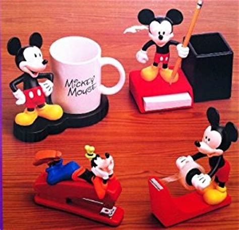 disney mickey mouse 4 desk collection w
