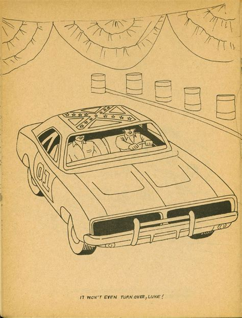 General Lee Car Coloring Pages General Car Coloring Pages