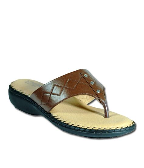 C 328 Footwear Color Brown Size 36 40 stylar brown daily wear sandals buy s sandals best price snapdeal