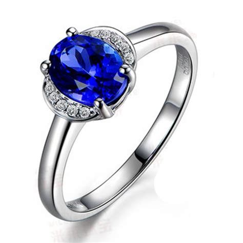 half carat sapphire and affordable engagement ring