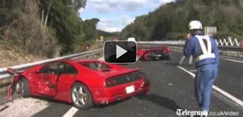 8 Ferrari Accident by Cel Mai Scump Accident Din Lume Cu Daune De Peste 1